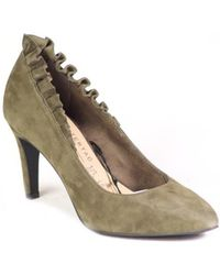 ccc11731b2d7 Tamaris - 12244121 744 Women s Court Shoes In Green - Lyst