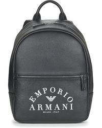 Emporio Armani Rugzak Y4o165-yfe5j-83898 - Zwart