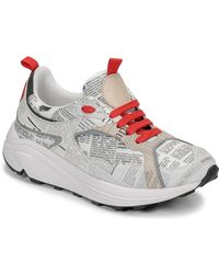 John Galliano Lage Sneakers 8516 - Grijs