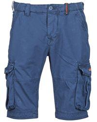 Superdry Korte Broek Core Cargo Lite Short - Blauw