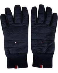Tommy Hilfiger Handschuhe Etablierte Mix-Nylon-Handschuhe - Blau