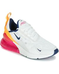 cc657f8c72 Nike - Air Max 270 W Women's Shoes (trainers) In White - Lyst