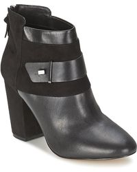 French Connection - Lira Women's Low Ankle Boots In Black - Lyst