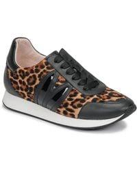Minna Parikka Lage Sneakers Bunny Runner - Zwart