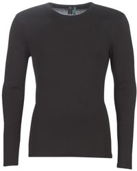 G-Star RAW BASE TEE hommes T-shirt en Noir