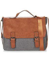 Casual Attitude Henvi Messenger Bag - Grey