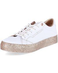 Tommy Hilfiger Glitter Foxing Dress Chaussures - Blanc