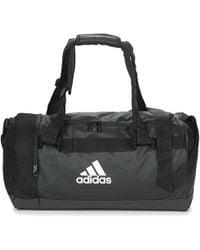 adidas Water Repellent Coated Nylon Duffle Bag in Yellow for Men - Lyst ec18854931bb9