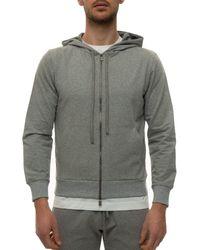 Canali T0687-MJ01036210 Sweat-shirt - Gris