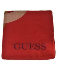 Guess Sjaal Aw7716 Vis03 - Rood