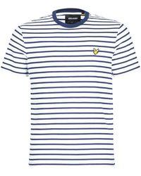 Lyle & Scott Camiseta FATER - Azul
