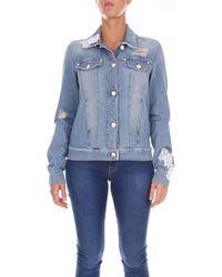 Love Moschino - WH65600T9349 femmes Veste en bleu - Lyst