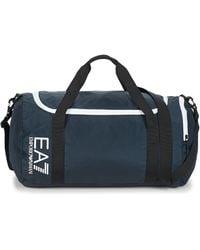 EA7 Sporttas Train Core U Gym Bag Small A - Blauw