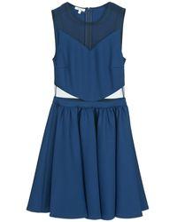Brigitte Bardot Korte Jurk Bb45080 - Blauw