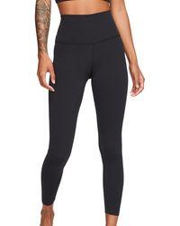 Nike Legging Yoga Luxe Leggings 7/8 Tights Women - Zwart