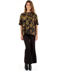Versace Jeans Couture T-shirt Korte Mouw 95277527 - Zwart