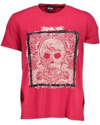 Roberto Cavalli T-shirt S01GC0499 - Rose