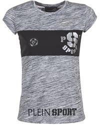 Philipp Plein THINK WHAT U WANT T-shirt - Gris