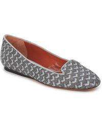 Missoni WM079 femmes Chaussures en Gris