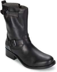 Marc O'polo - Anaelle Women's Mid Boots In Black - Lyst