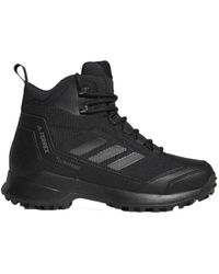 adidas Chaussure Terrex Heron Mid CW CP hommes Chaussures en Noir