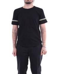 Saint Laurent T-shirt Korte Mouw 624992ybuw2 - Zwart