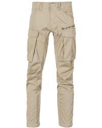 G-Star RAW ROVIC ZIP 3D STRAIGHT TAPERED Pantalon - Neutre