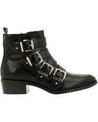 Rehab RUBY L Ankle boot/Bootie Women Bottines - Noir