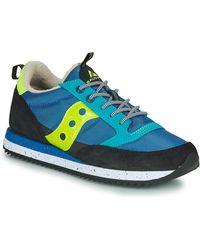 Saucony Lage Sneakers Jazz (peak) - Blauw