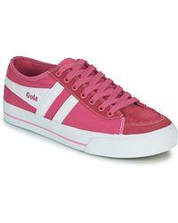Gola Lage Sneakers Quota Ii - Roze