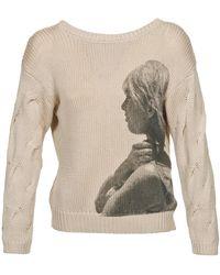 Brigitte Bardot Trui Arlette - Naturel