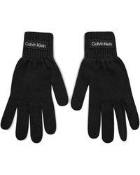 Calvin Klein Handschuhe K50K507424 KNITTED GLOVES - Schwarz