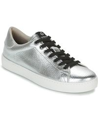 Victoria - Lage Sneakers Deportivo Metalizado - Lyst