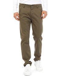 Gas Pantalón chino 360704 - Verde
