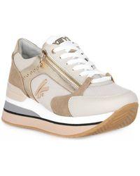 Keys BEIGE SNEAKER Chaussures - Blanc