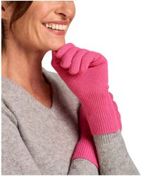 Woolovers Classic Cashmere Merino Gloves Gloves - Pink