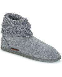 Giesswein - Karlsdorf Women's Slippers In Grey - Lyst