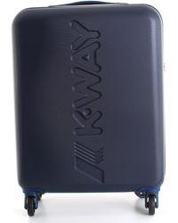 K-Way Reiskoffer K111jmw - Blauw