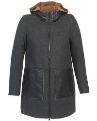 Vero Moda - Empire Women's Coat In Grey - Lyst