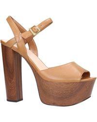 Guess Sandalen - Sandalo light brown FLDE21LEA03 - Braun