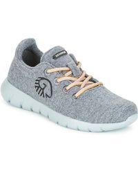 Giesswein - Merino Runners Women's Shoes (trainers) In Grey - Lyst