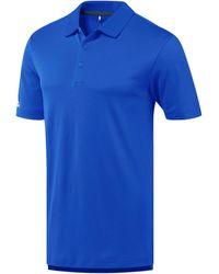 adidas Polo Shirt Korte Mouw Ad036 - Paars
