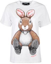 DOMREBEL T-shirt - Blanc