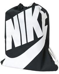 Nike Rugzak Heritage Gymsack Ba5351-011 - Zwart