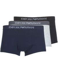 Emporio Armani Boxers Cc722-111610-94235 - Zwart