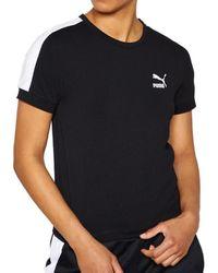 PUMA CLASSICS TIGHT T7 NERA T-shirt - Noir