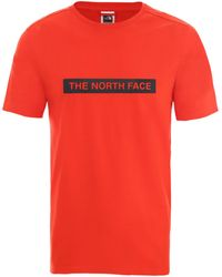 The North Face NF0A3S3O15Q1 T-shirt - Rouge