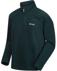 Regatta Thompson Lightweight Half-zip Fleece Green Fleece Jacket