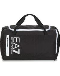 EA7 Sporttas Met Logo - Zwart