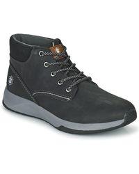 Lumberjack NANTES HIGH CUT SNEAKER Chaussures - Noir